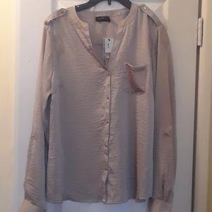 Women's Large Split Neck blouse